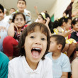 Stock Photo: Children group, happiness and togetherness