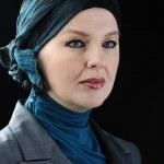 Confident and beautiful european Muslim woman — Stock Photo #6213072