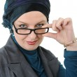 Confident and beautiful europeMuslim woman — Stock Photo #6213102