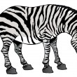 Stock Photo: Illustration of zebra