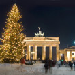 Berlin winter christmas - Stock Photo