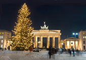 Berlin winter christmas — Stockfoto