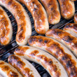 Stock Photo: Barbecue sausages