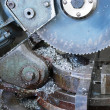 Royalty-Free Stock Photo: Industrial metal saw