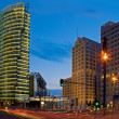 Potsdamer platz night — Stock Photo