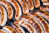 Barbecue sausages — Stock Photo