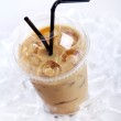 Cold coffee drink — Stock Photo