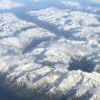 Aerial view on mountains — Stock Photo #5717112