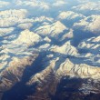 Aerial view on mountains - Stock Photo