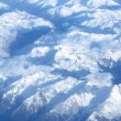 Stock Photo: Aerial view of mountaints
