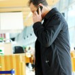 Adult man calling by phone — Stock Photo #5717148