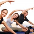 Group of Doing Fitness Exercises — Stock Photo #5841870