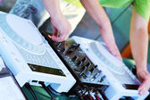 DJ Workstation — Stockfoto