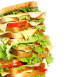 Very big sandwich - Foto Stock