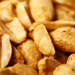 Closeup of fried peanuts - Stock Photo