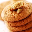 Fresh and tasty oat biscuits — Foto Stock
