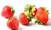 Cerca de berries frescos de fresa — Foto de Stock
