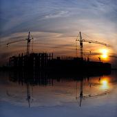Industrial landscape. — Stock Photo