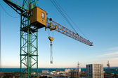 Construction crane — Foto de Stock