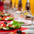 Served for a banquet table — Stock Photo #6632396