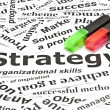Royalty-Free Stock Photo: \'Strategy\' concept