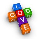 God is Love — Stock Photo