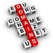 Domain names — Stock Photo