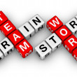 Foto Stock: Brainstorm and teamwork