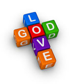 God is Love — Stock Photo