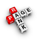 Page rank — Stock Photo