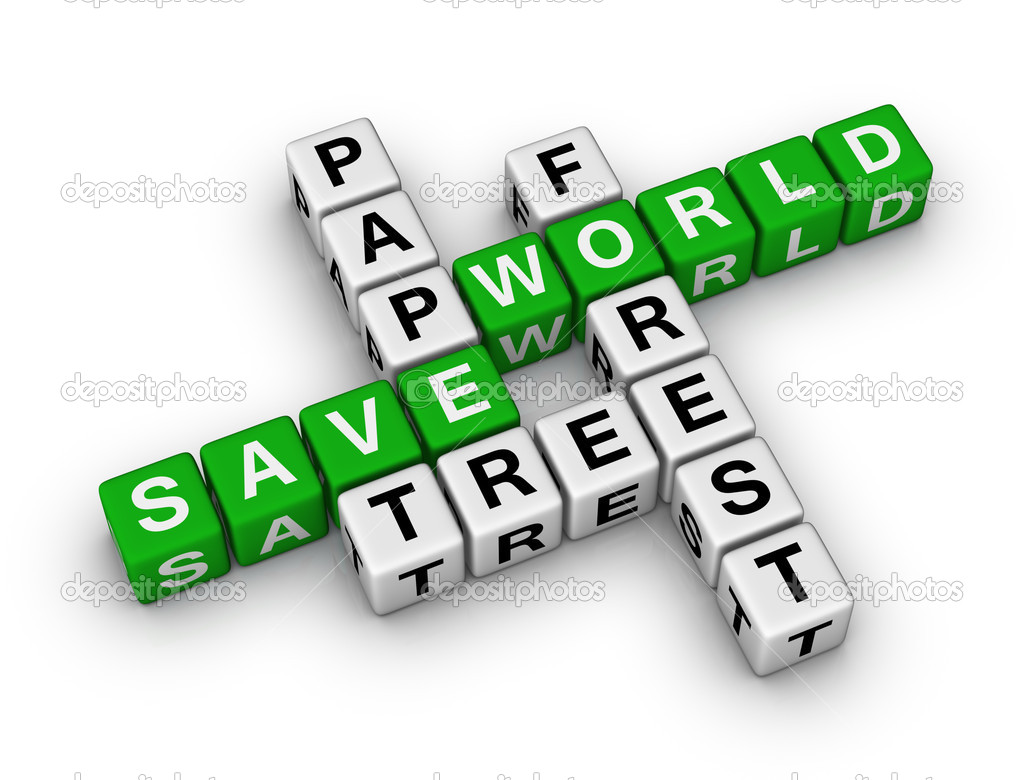 Save The World Images Save Paper Save World