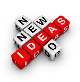 Potrzebne są nowe pomysły — Zdjęcie stockowe