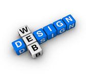 Diseño web — Foto de Stock