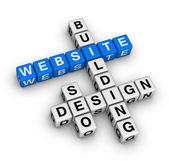 Website building — Stock Photo
