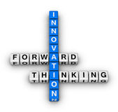 Forward thinking innovation — 图库照片
