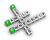 Business family ownership — Stock Photo