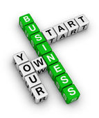 Start your own business — Stock Photo