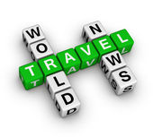 World travel news — Stock Photo