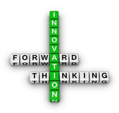Forward thinking innovation — Stock Photo