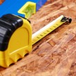 Carpenter tools — Stock Photo #5545140