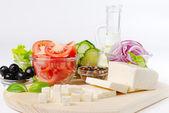 Frisches Gemüse und Gewürze — Stockfoto