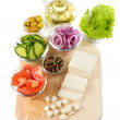 Stock Photo: Food ingredients