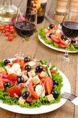Griekse salade — Stockfoto