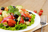 Greek salad — Foto de Stock