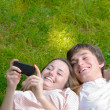 Young happy couple — Stock Photo #6587437