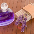Stock Photo: Lavender perfume
