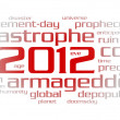 2012 year (word cloud) — Stock Photo