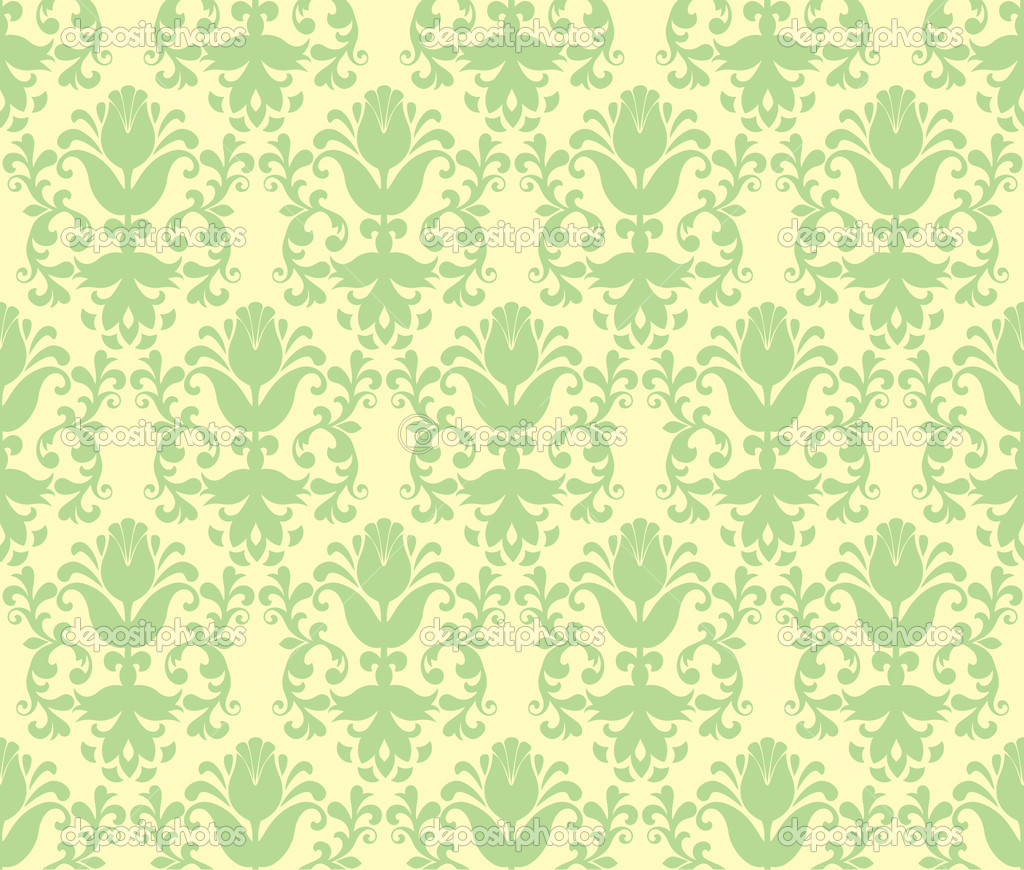 light green flower wallpaper - photo #14