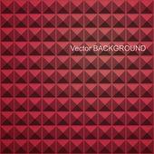 абстрактный бесшовный фон квадратных. красная мозаика — Cтоковый вектор