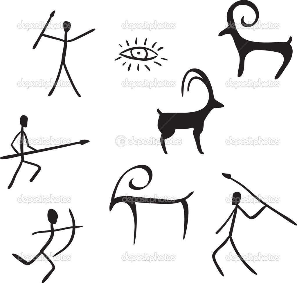 Free Cave Paintings Coloring Pages